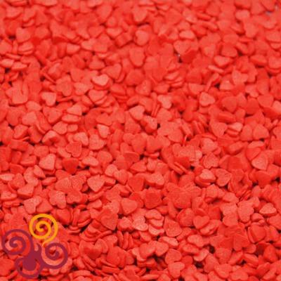 Посыпки Сердечки красные (мини)