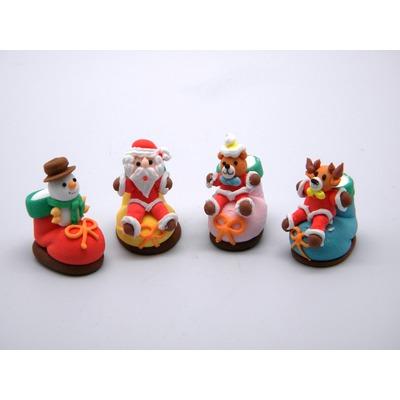Сахарные фигурки Рождественский носок