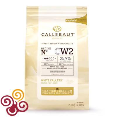 Barry Callebaut Шоколад белый 25,9% 200гр.