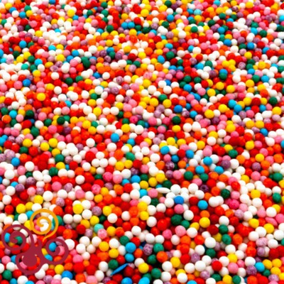 Посыпка Шарики разноцветные Микс 1