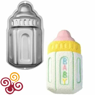 Wilton Форма для выпечки металлическая Детская бутылочка