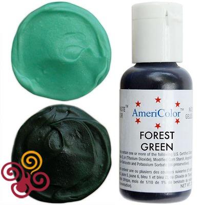 AmeriColor Краситель пищевой гелевый цвета FOREST GREEN, 21 г