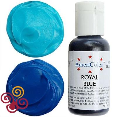 AmeriColor Краситель пищевой гелевый цвета ROYAL BLUE, 21 г