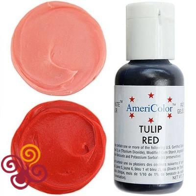 AmeriColor Краситель пищевой гелевый цвета TULIP RED, 21 г