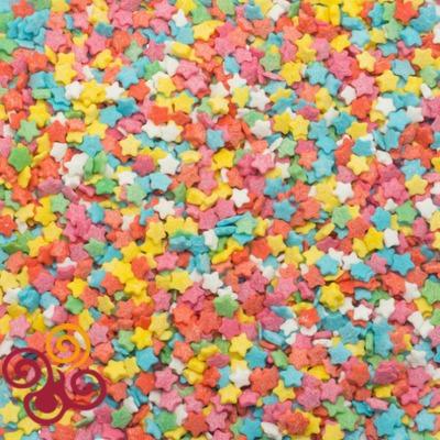 Посыпки Звезды разноцветные мини