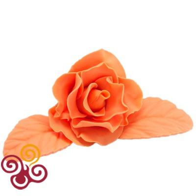 Мастика сахарная Оранжевая Топ Декор