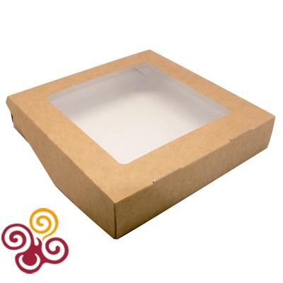 Коробка для пряников и печенья открывающаяся ECO TABOX 200*200*40
