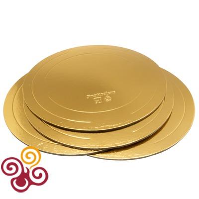 Подложка усиленная золото/жемчуг D280, толщина 3,2мм