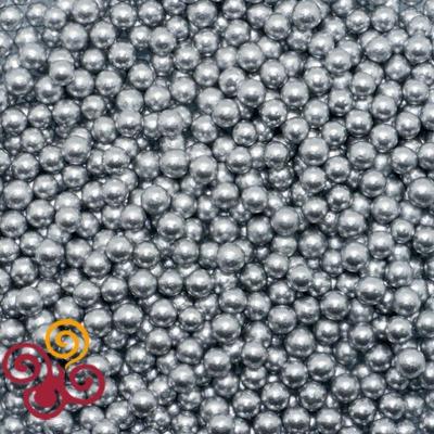 Посыпка серебряные шарики 3мм