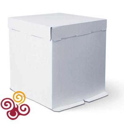 Коробка для торта картонная 360*360*260