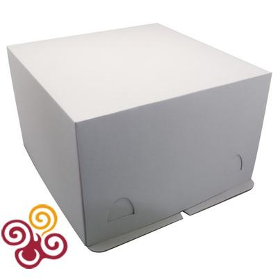 Коробка для торта картонная 300*300*190