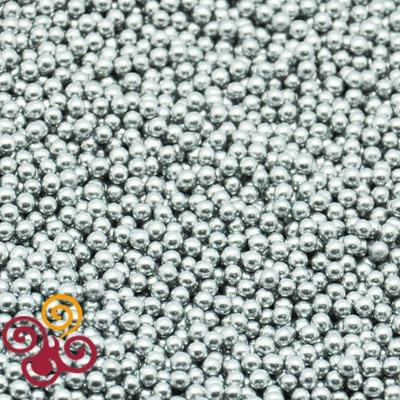 Посыпка серебряные шарики 5мм