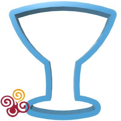 Форма ''Бокал мартини''