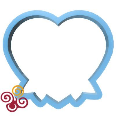Форма ''Сердце с бантом''
