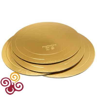 Подложка усиленная золото/жемчуг D420, толщина 3,2мм