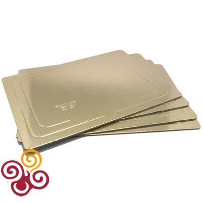 Подложка усиленная золото/жемчуг 300*400 толщина 3,2 мм