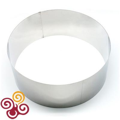 Форма для выпечки Кольцо диаметром 180, высотой 80