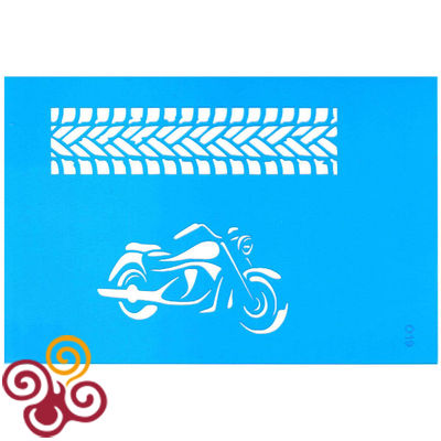 Трафарет Мотоцикл