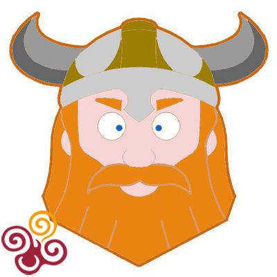 Форма ''Голова викинга''