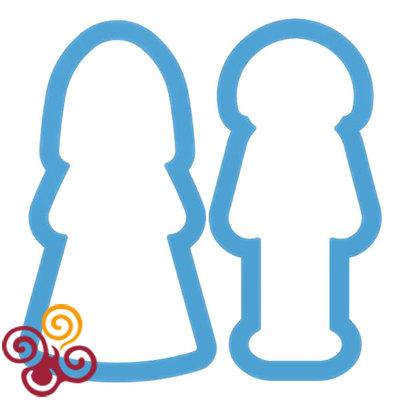 Набор форм ''Жених и Невеста''