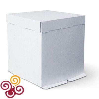 Коробка для торта картонная 300*400*260