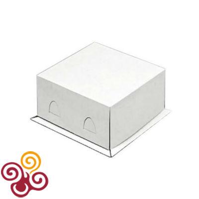 Коробка для торта Хром-Эрзац 280*280*140