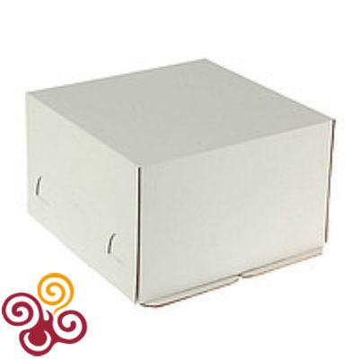 Коробка для торта Хром-Эрзац 300*300*190
