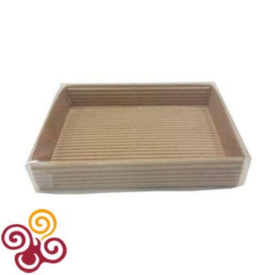Упаковка для конфет с прозрачной крышкой, 140*105*25