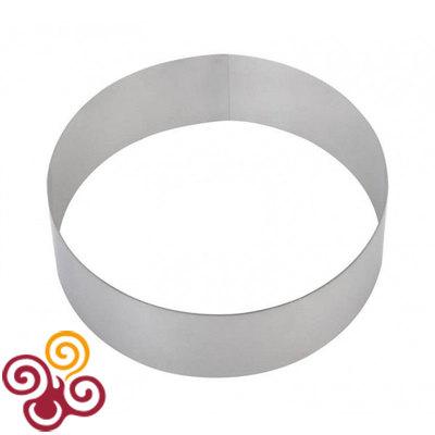 Форма для выпечки Кольцо диаметром 180, высотой 25