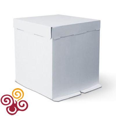 Коробка для торта картонная 300*300*450