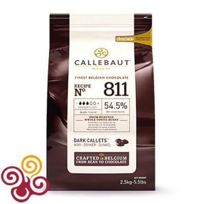 Barry Callebaut Шоколад темный 54,5% 500гр.