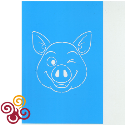 Форма ''Свинка №4'' + трафарет